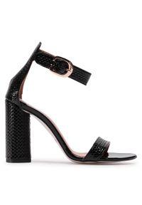 Czarne sandały R.Polański