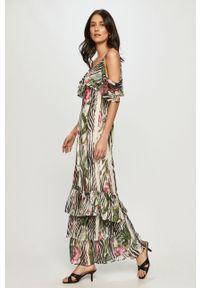 Wielokolorowa sukienka Guess casualowa, maxi, na co dzień, prosta