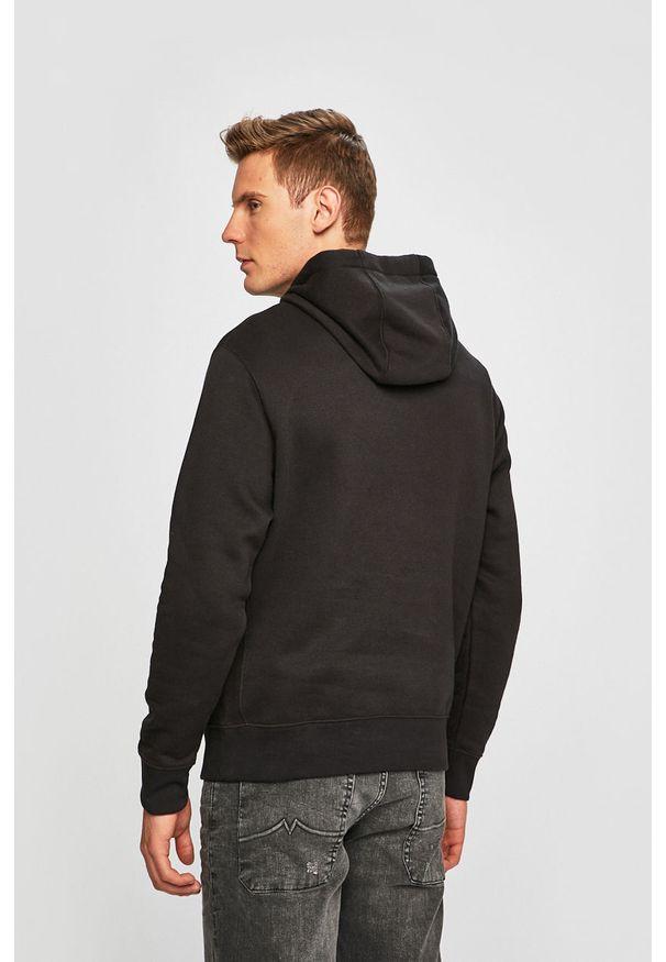 Czarna bluza nierozpinana Nike Sportswear z nadrukiem, z kapturem