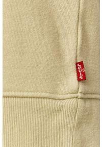 Zielona bluza Levi's® z nadrukiem, z długim rękawem