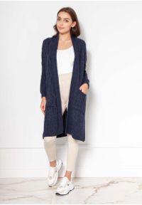 Niebieski płaszcz Lanti