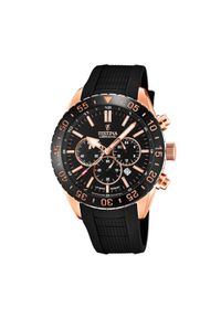 Czarny zegarek Festina