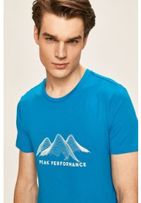 T-shirt Peak Performance z okrągłym kołnierzem, z nadrukiem #5