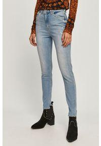 Niebieskie jeansy Scotch & Soda w kolorowe wzory