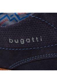 Niebieskie półbuty Bugatti
