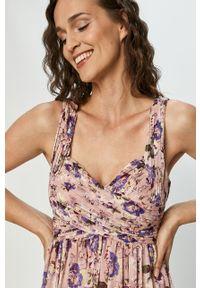 Sukienka Vila na ramiączkach, w kwiaty #5