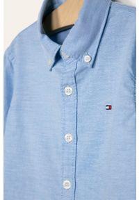 Niebieska koszula TOMMY HILFIGER elegancka, button down, długa