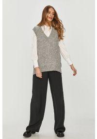 Szary sweter Answear Lab wakacyjny, melanż