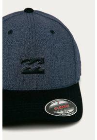 Niebieska czapka z daszkiem Billabong melanż