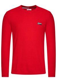 Czerwony sweter klasyczny Tommy Jeans