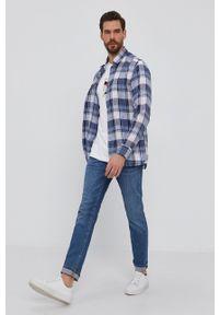 TOMMY HILFIGER - Tommy Hilfiger - T-shirt. Okazja: na co dzień. Kolor: biały. Materiał: bawełna, dzianina. Wzór: aplikacja. Styl: casual