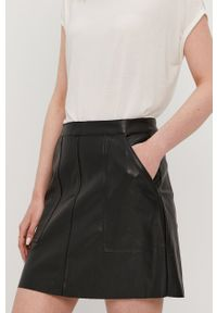 Vero Moda - Spódnica. Okazja: na co dzień. Kolor: czarny. Styl: casual