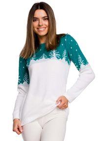 Zielony sweter MOE