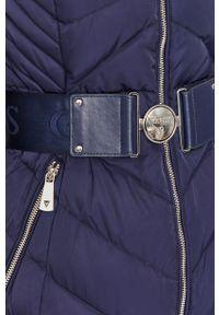 Niebieska kurtka Guess Jeans na co dzień, casualowa