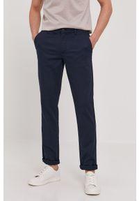 Niebieskie spodnie Selected gładkie