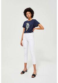 Białe spodnie MOODO