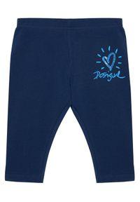 Niebieskie legginsy Desigual