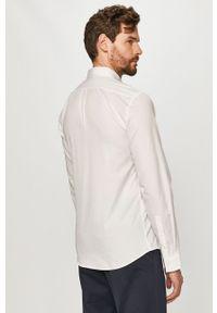 Biała koszula Hugo na co dzień, klasyczna