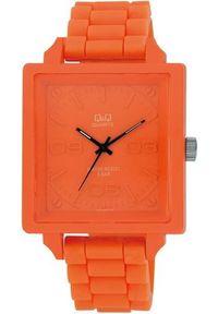 Pomarańczowy zegarek Q&Q