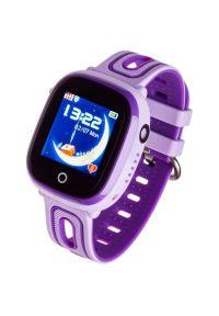 Fioletowy zegarek GARETT smartwatch