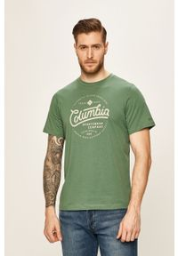 T-shirt columbia z nadrukiem, na co dzień