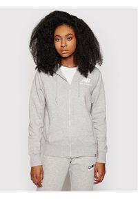 New Balance Bluza Essentials WJ03530 Szary Relaxed Fit. Kolor: szary