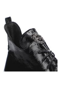 Lemar - Botki LEMAR 60309 Naplak Czarny. Kolor: czarny