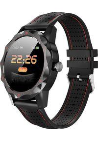Smartwatch Roneberg RSK1 Czerwony. Rodzaj zegarka: smartwatch. Kolor: czerwony