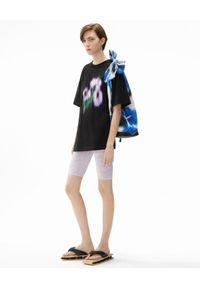 Kenzo - KENZO - Koszulka o luźnym kroju Coquelicot. Kolor: czarny. Materiał: bawełna. Wzór: nadruk, aplikacja, kwiaty