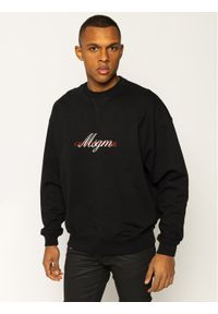 MSGM Bluza 2840MM102 207099 Czarny Regular Fit. Kolor: czarny