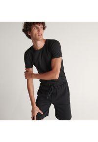 Reserved - Spodenki piżamowe - Czarny. Kolor: czarny