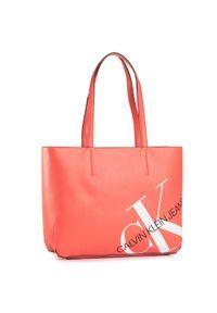 Pomarańczowa torebka klasyczna Calvin Klein Jeans