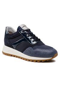 Geox - Sneakersy GEOX - D Tabelya A D15AQA 02214 C4264 Navy/Blue. Okazja: na co dzień. Kolor: niebieski. Materiał: skóra, materiał, zamsz. Szerokość cholewki: normalna. Sezon: lato. Styl: casual