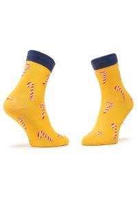 Żółte skarpetki Dots Socks