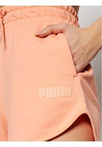 Różowe spodenki sportowe Puma