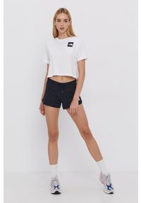 The North Face - T-shirt bawełniany. Kolor: biały. Materiał: bawełna