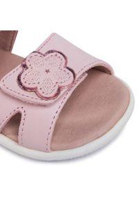 Różowe sandały Garvalin na co dzień, casualowe