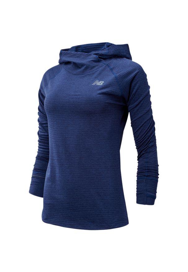 Bluza sportowa New Balance na fitness i siłownię, z kapturem