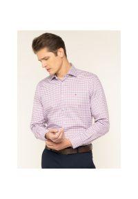 Fioletowa koszula Tommy Hilfiger Tailored