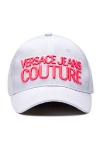 Biała czapka z daszkiem Versace Jeans Couture