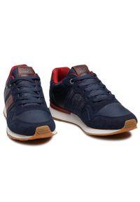 Jack & Jones - Sneakersy JACK&JONES - Jfwstellar 12177238 Navy Blazer. Okazja: na co dzień. Kolor: niebieski. Materiał: skóra ekologiczna, materiał. Szerokość cholewki: normalna. Styl: klasyczny, casual