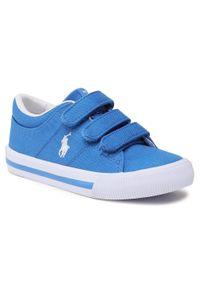 Niebieskie półbuty Polo Ralph Lauren