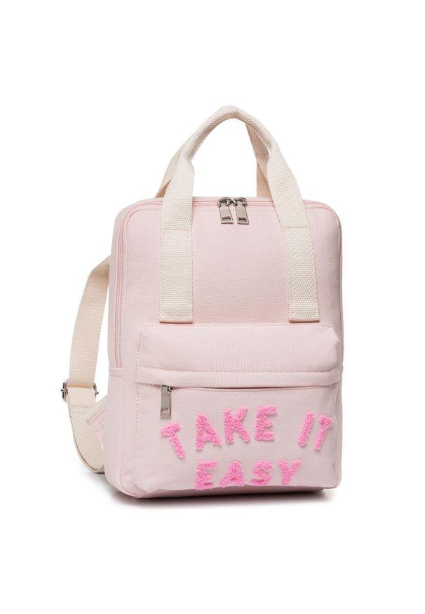 Różowy plecak Nelli Blu sportowy