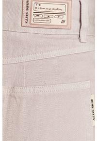 Fioletowe jeansy loose fit Miss Sixty gładkie, klasyczne