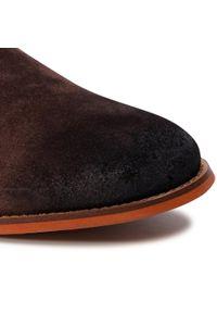 Brązowe buty zimowe GOE casualowe, na co dzień, z cholewką #6