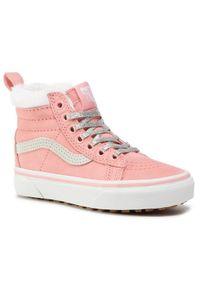 Różowe buty sportowe Vans Vans SK8