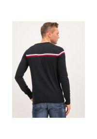 Czarny sweter klasyczny Rossignol