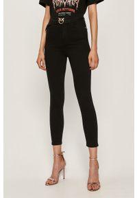 Czarne jeansy Pinko