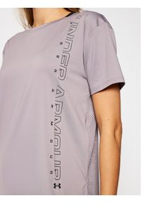 Under Armour Koszulka techniczna Ua Armour Sport Graphic Short Sleeve 1356301 Fioletowy Loose Fit