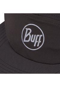 Buff - Czapka z daszkiem BUFF - 5 Panel Cap 119490.999 R-Solid Black. Kolor: czarny. Materiał: materiał, poliester, elastan